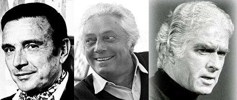 Franco Brusati, Dino Risi e Giorgio Strehler